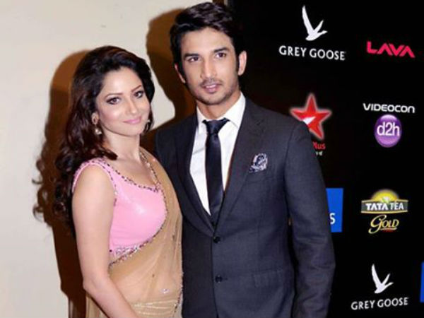 Hot Couple Sushant Singh Rajput And Ankita Lokhande