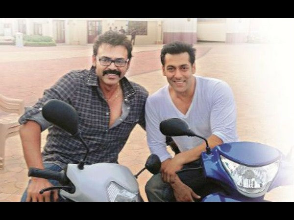 Venkatesh, Salman Busy Shooting For Golmaal, Mental
