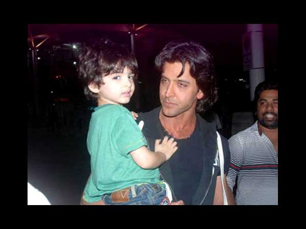 Hrithik With Hridaan