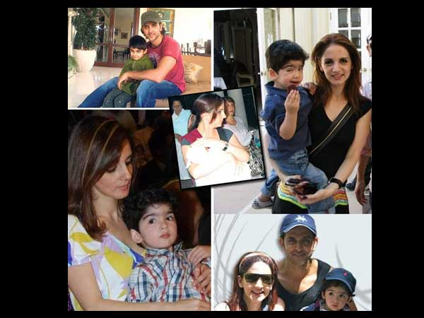 Hrithik-Sussanne With Kids