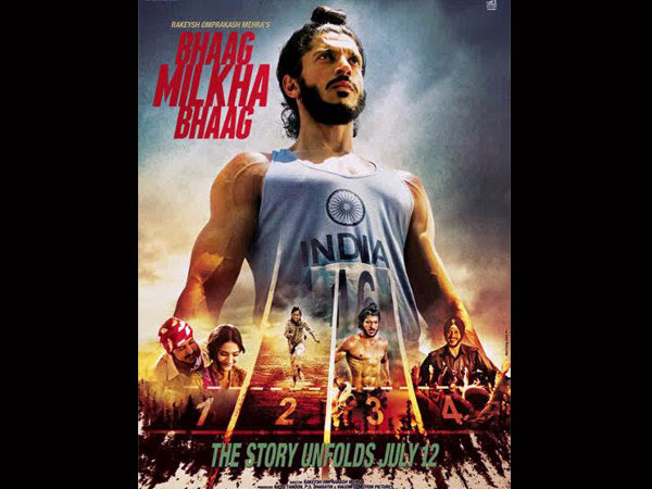 Still from Bhaag Milkha Bhaag
