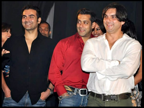 Salman, Sohail And Arbaaz