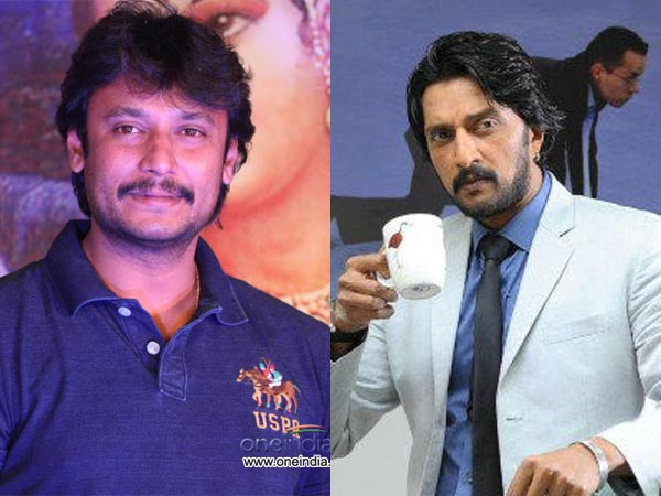 Stars From South - Sudeep And Darshan