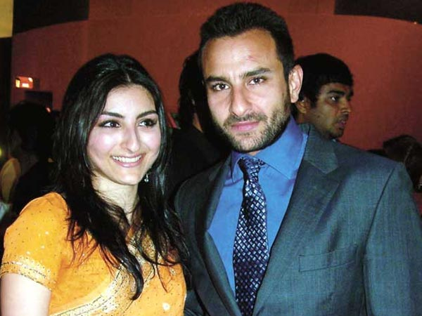 Saif Ali Khan With Soha
