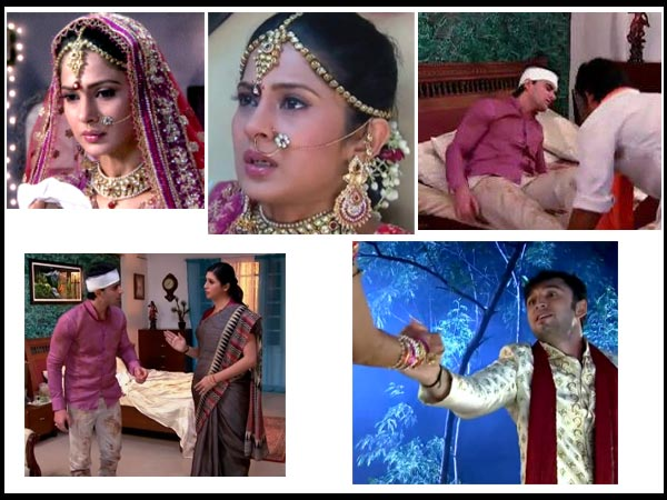 Saraswati chandra kumud and pramod wedding hairstyles