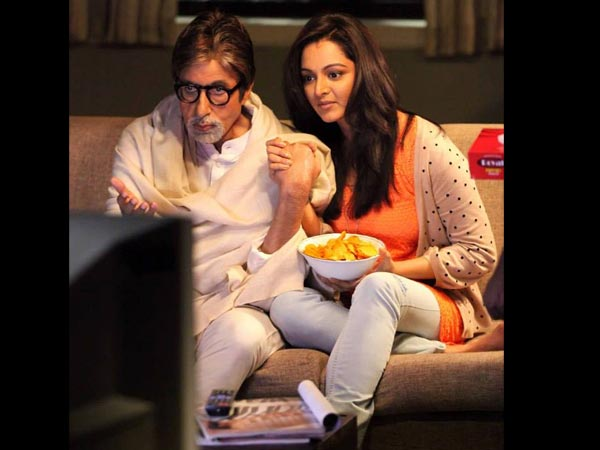 Manju And Amitabh Bachchan