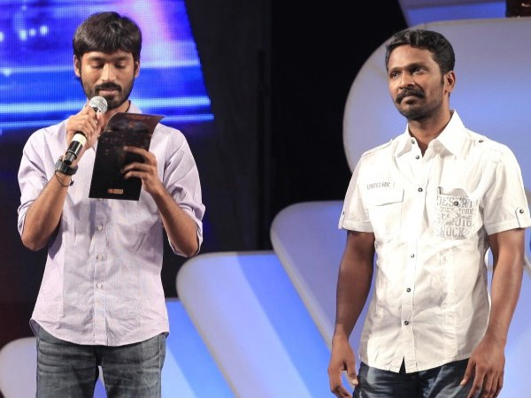 Dhanush and Vetrimaaran
