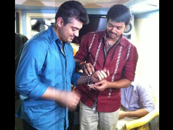 Ajith Kumar and Vijay