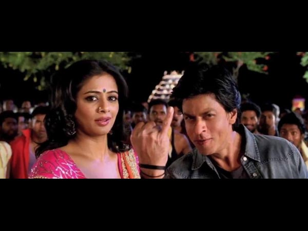 Priyamani And Shahrikh Khan In Chennai Express