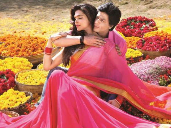 SRK And Dipi In Chennai Express