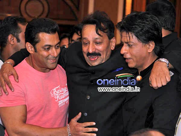 SRK With Baba And Salman