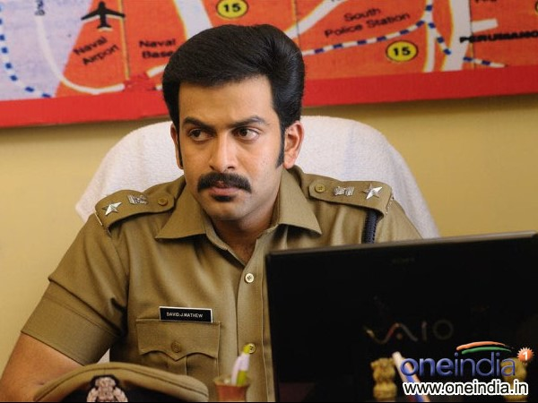 Prithviraj Again A Police Officer