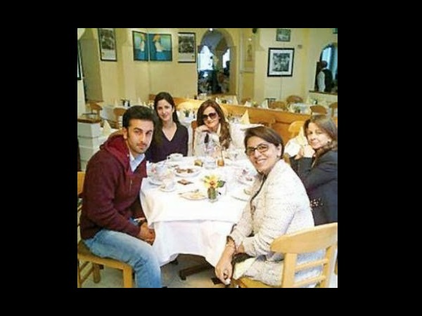 Katrina's Dinner With The Kapoors