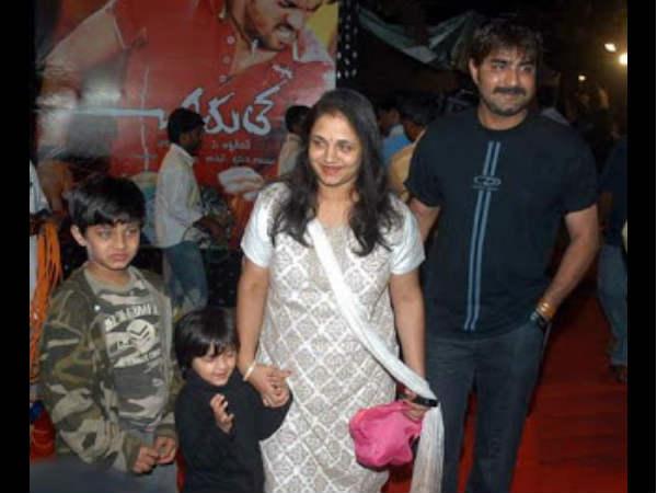 Srikanth S Family