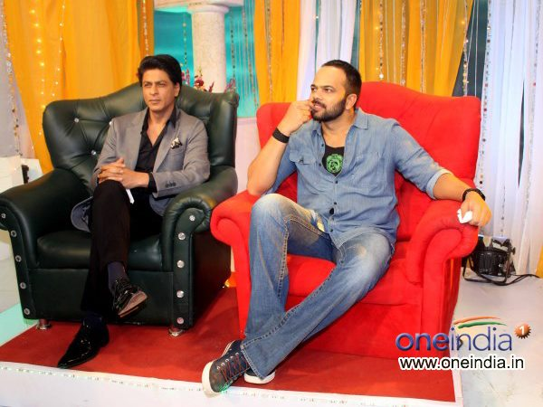 Shahrukh Khan And Rohit Shetty