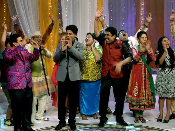 Shahrukh Khan Impresses With The Cast's Energy