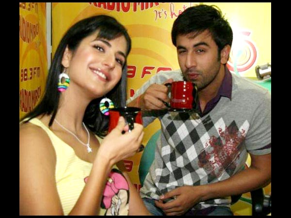 Ranbir With Lady Love Kat