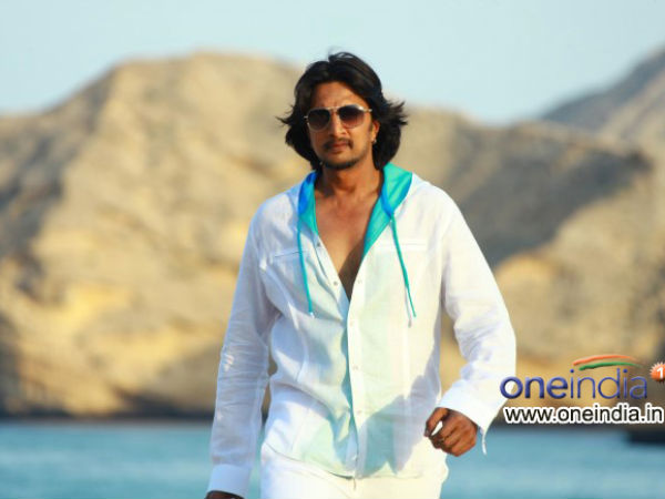 Kiccha-Ravi For The First Time
