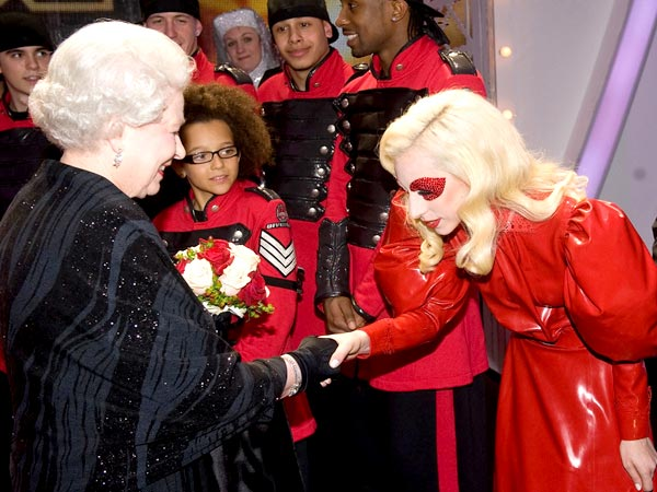 When Gaga Met The Queen