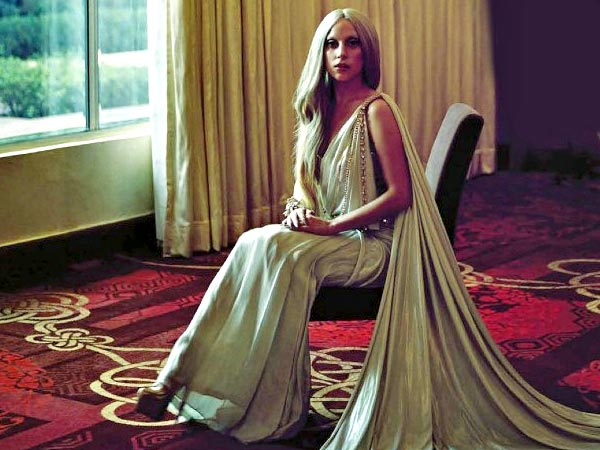 Lady Gaga In Saree