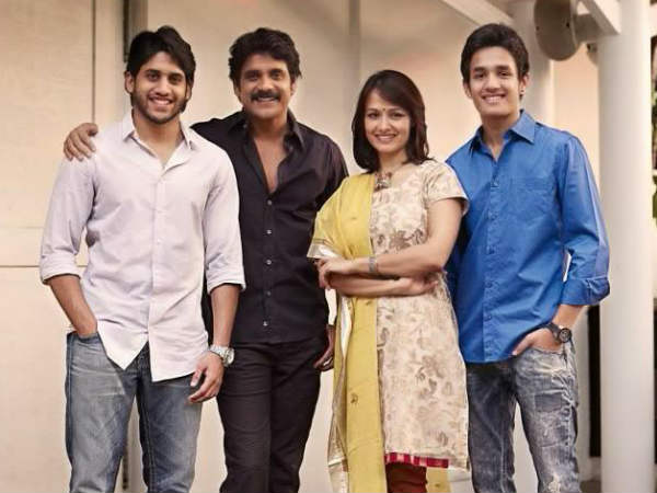 Nagarjuna's Debut In Films