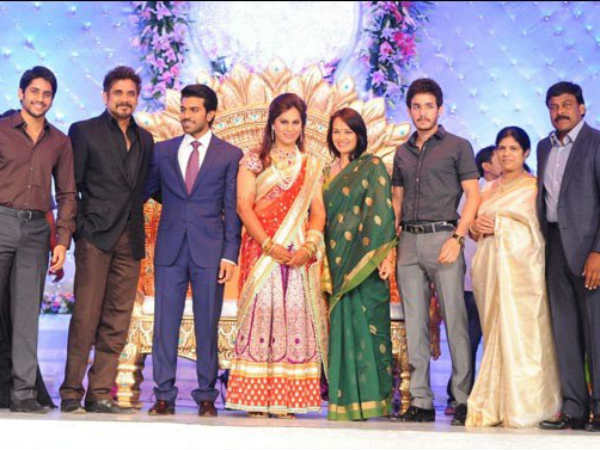 Akhil At Ram Charan's Wedding