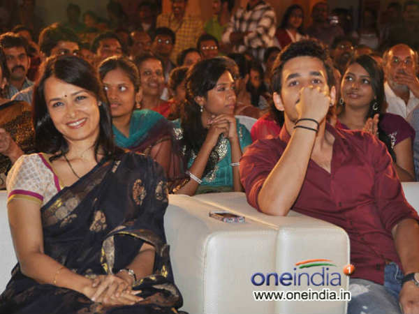 Akhil At Life Is Beautiful Event