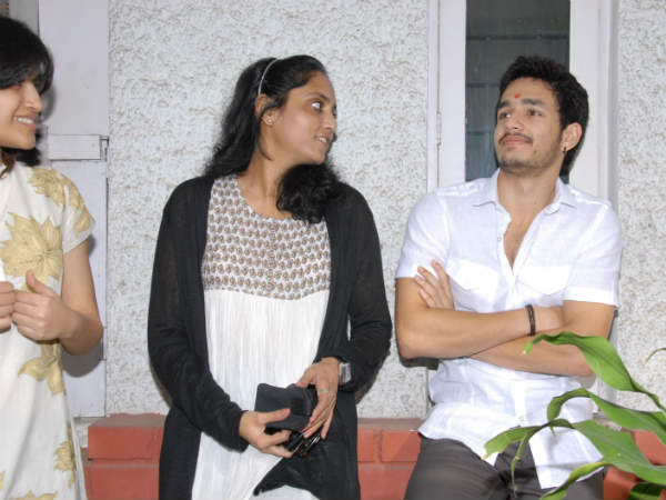 Nag's Son Akhil At Public Events.