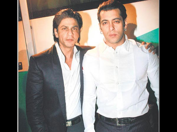 Sallu With SRK