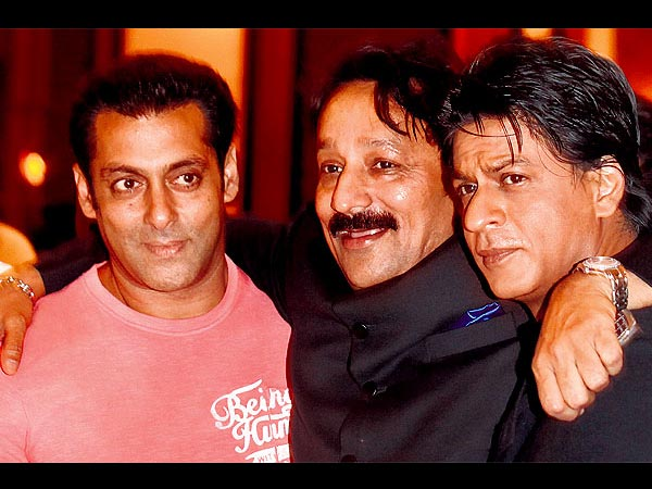 Shahrukh, Salman And Baba