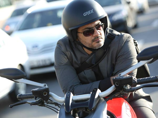 Ajith On Ducati