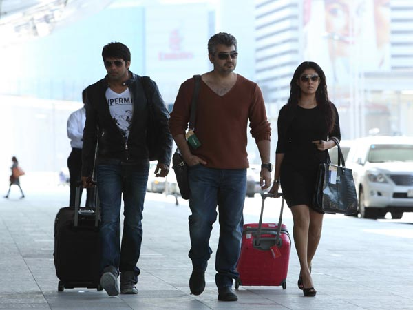 Arya, Ajith And Nayantara In Arrambam