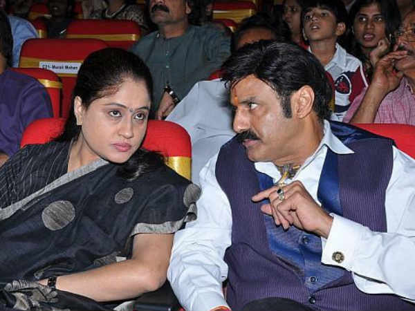 Shanti's Chemistry With Chiru And Balayya