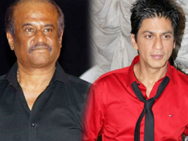 Rajinikanth And Shahrukh Khan