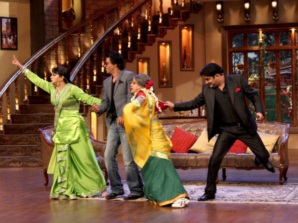 SRK On Comedy Nights With Kapil