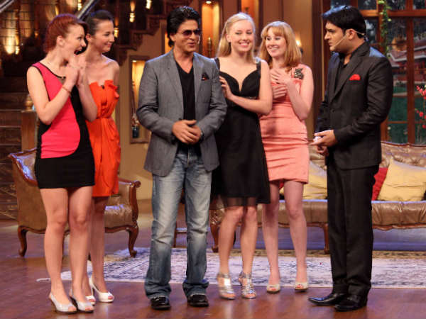 SRK With Foreign Models