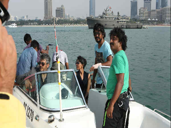 Arrambam On The Sets Photo