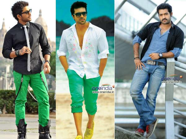 Photos Allu Arjun Beats Ram Charan Teja Junior Ntr