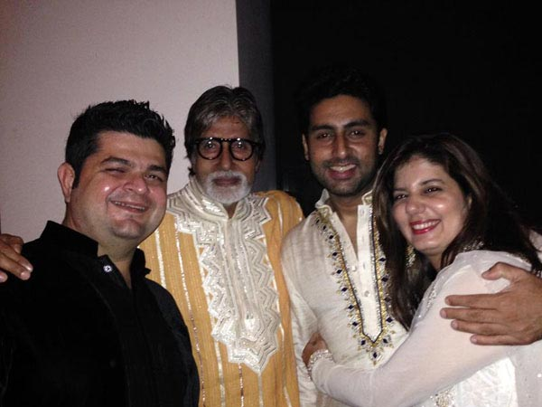 Bachchans With Daboo Ratnani