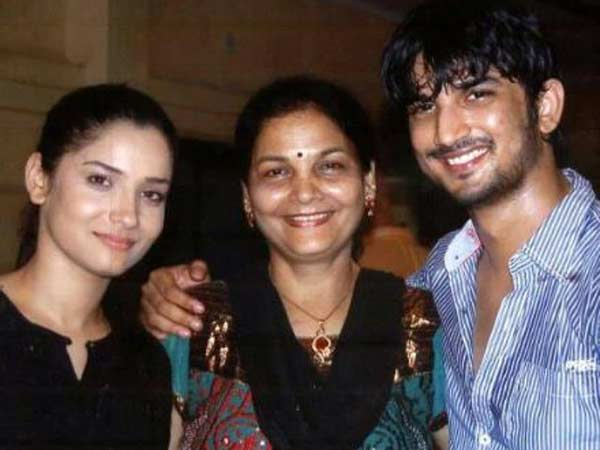 The Couple With Ankita's Mom