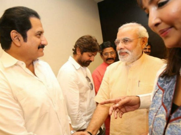 Mohan Babu Shares Insights About AP With Modi