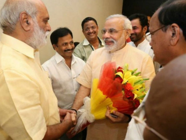Modi Wants NTR's Dream To Be Fulfilled