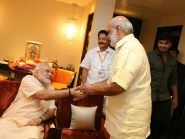 K Raghavendra Rao With Modi