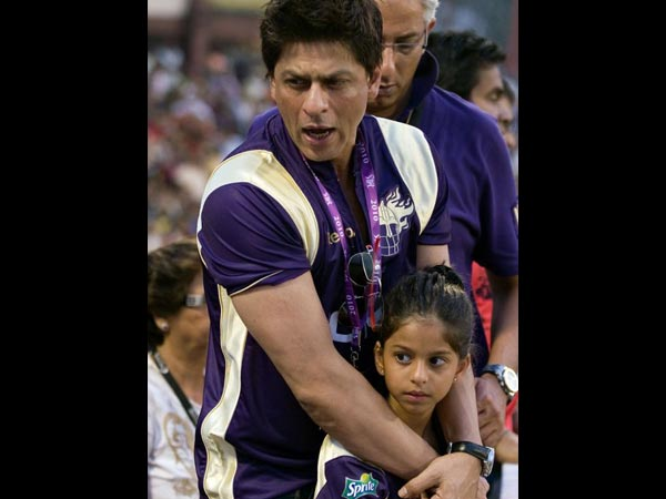SRK With Suhana