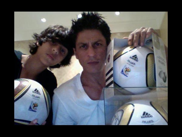 Shahrukh With Aryan