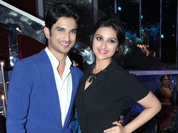 Sushant Singh And Parineeti Chopra