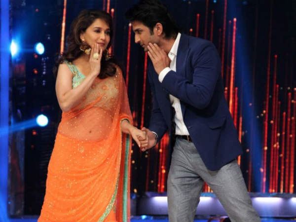Sushant With Madhuri