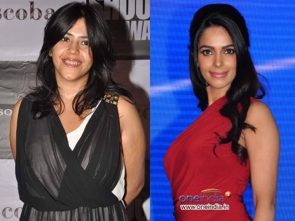 Ekta Kapoor And Mallika Sharawat