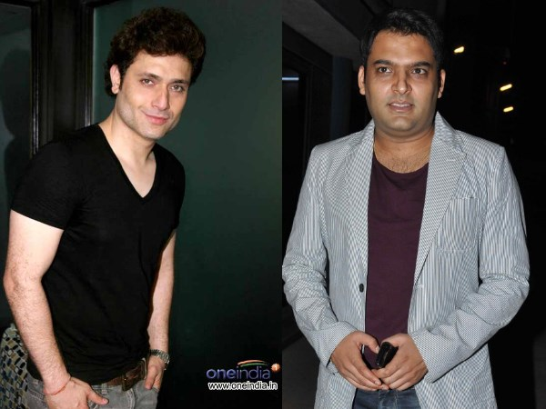 Shiney Ahuja And Kapil Sharma