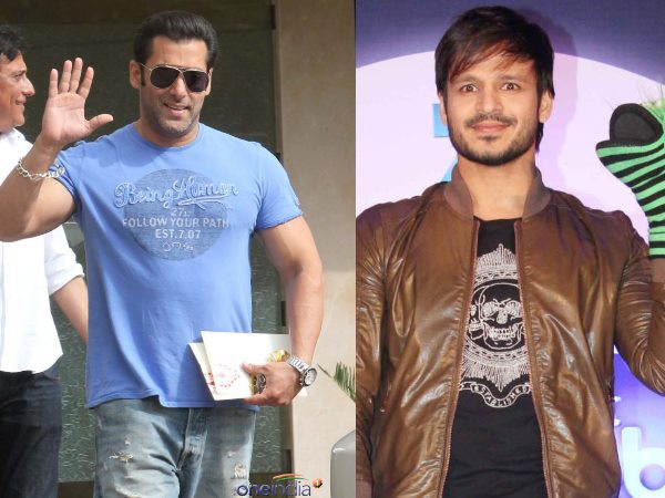 Salman Khan And Vivek Oberoi